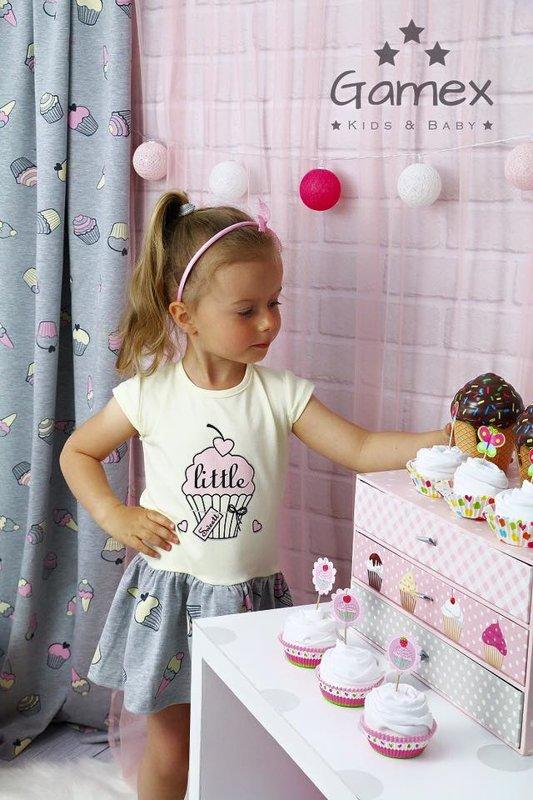 "Kleitiņa ""Cup-cake"": 74, 80, 104 izmērs"