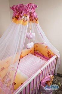 ANKRAS Bērnu gultiņas aizsargapmale 360 cm