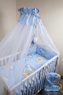 ANKRAS Bērnu gultiņas aizsargapmale 180 cm
