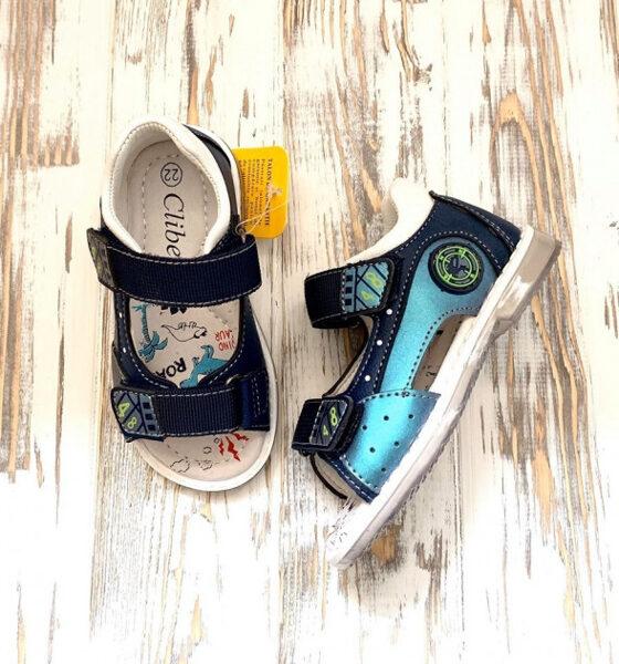 Clibee sandales: 21, 22, 23, 24, 25 izmērs
