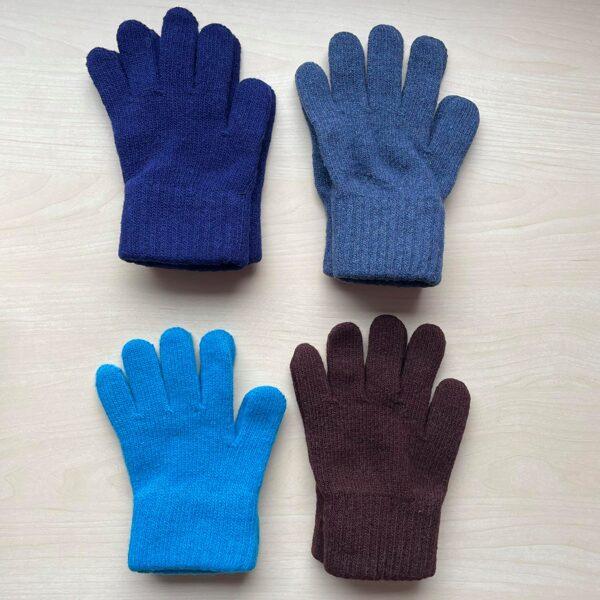JAUNUMS! Silti Cimdi (pirkstaiņi) ar vilnu: 5-7 gadi