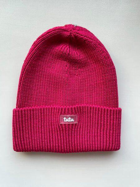 JAUNUMS! 3-005753 TuTu ZIEMAS merino vilnas cepure: 48-52 un 52-56 izmērs