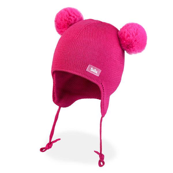 JAUNUMS! 3-005751 TuTu ZIEMAS merino vilnas cepure: 50-54 izmērs