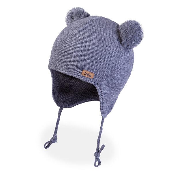 JAUNUMS! 3-005713 TuTu ZIEMAS merino vilnas cepure: 44-48 izmērs