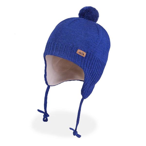 JAUNUMS! 3-005710 TuTu ZIEMAS merino vilnas cepure: 46-50 un 50-54 izmērs
