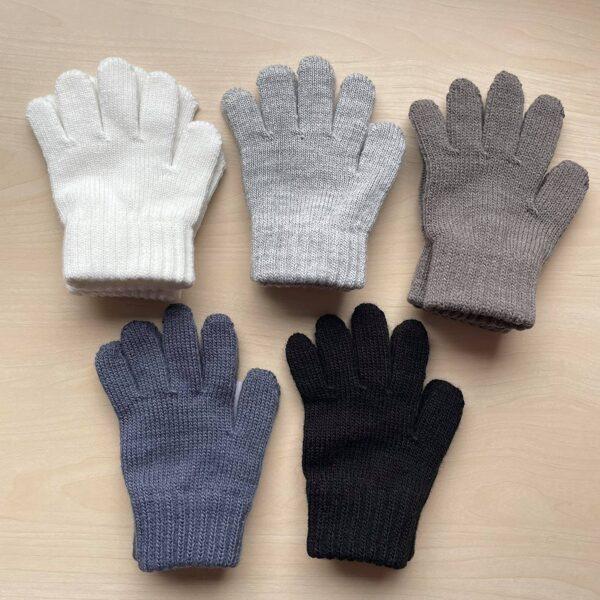 JAUNUMS! Cimdi (pirkstaiņi) ar vilnu: 3-5 gadi