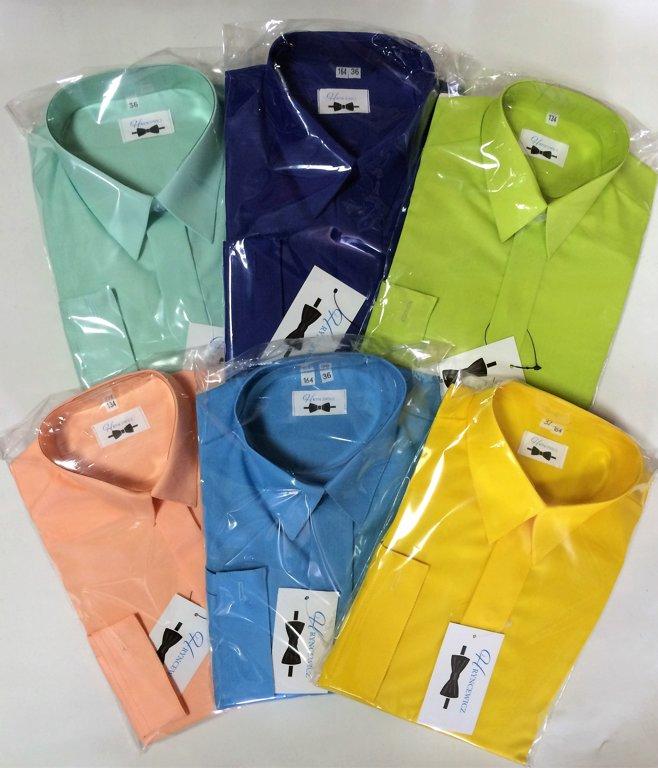 Klasisks krekls ar garām piedurknēm: izmērs: no 62 līdz 170