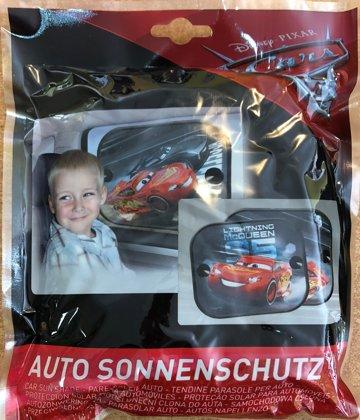 """Automašīnas saulessargs komplekts: 2gb. """"Cars-3"""""""