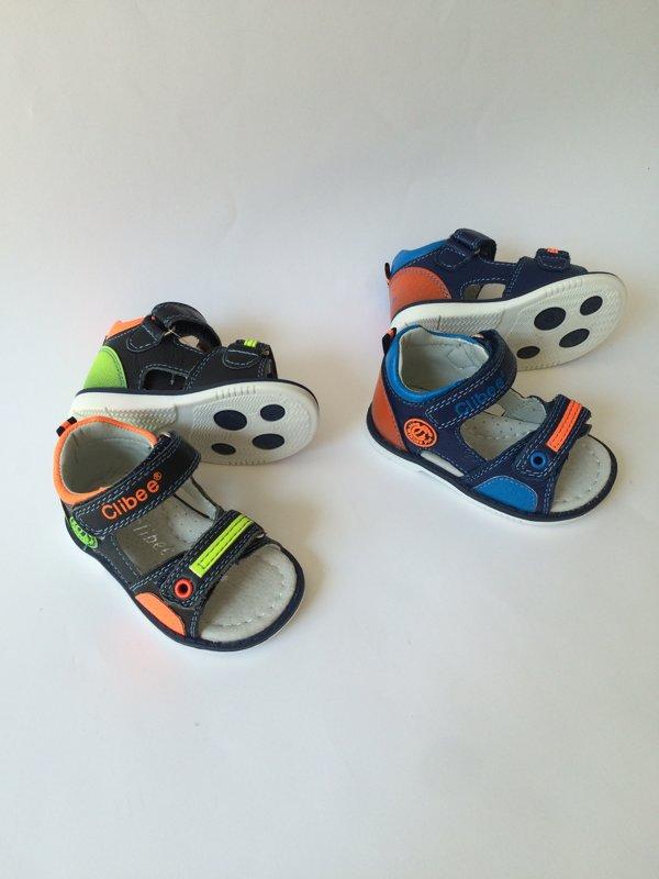 SUPER CENA! Clibee ādas sandales (2 krāsas): izmērs: 18, 19