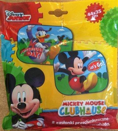 """Automašīnas saulessargs komplekts: 2gb. """"Mickey"""""""