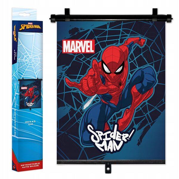 Automašīnas saulessargs - žalūzijas: Spider Man