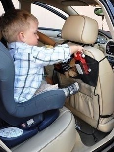 Automašīnas priekšējā sēdekļa aizsargs Bambino