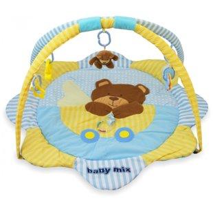 BabyMix Bear attīstošais paklājiņš