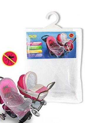 Universāls moskītu tīkls bērnu ratiem: Bambino