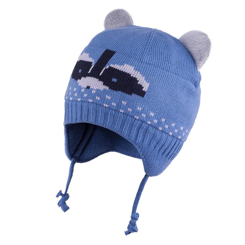 5-000138 TuTu ZIEMA komplekts: cepure + šalle: 44-48 izmērs