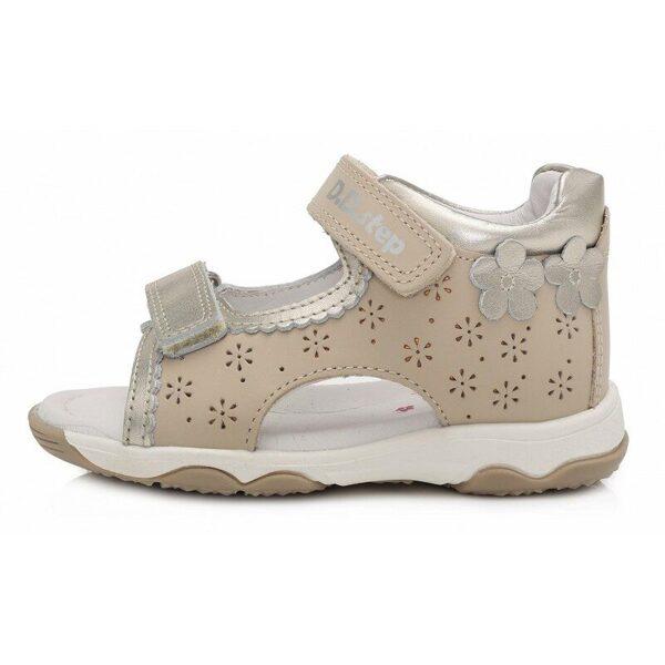 JAUNUMS! D.D.Step ādas sandales 21, 22, 23, 24 izmērs