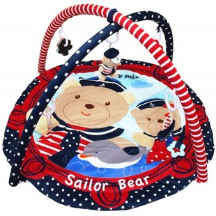 BabyMix Sailor Bear attīstošais paklājiņš